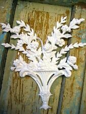 SHABBY & CHIC ARCHITECTURAL BOUQUET / FURNITURE APPLIQUE / ONLAY