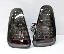 Mini Cooper 2005-2006 LED Crystal Tail Lights - Smoke Pair RH LH
