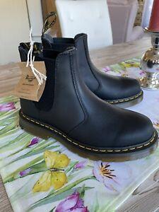 Dr. Martens Chelsea Boots Gr. 39 schwarz AIRWAY Echtleder NEU
