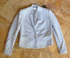 Helmut Lang Single Button Blazer Jacket, Gray, 2