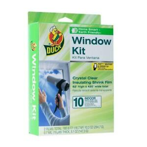 Duck 62″ X 420″ 10pk Shrink Indoor Window Film Insulation Kit