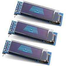 3PCS 0.91 Inch OLED Display Module IIC SSD1306 128x32 Screen Driver DC 3.3V5V Pi
