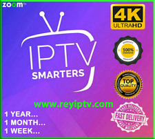 Abonnement 12 mois IP * TV Smarters Pro 12 mois (✔ m3u ✔ smart tv ✔android ✔mag)