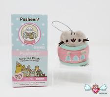 """GUND Pusheen Series 11 Blind Box Plush """"Winter Wonderland"""" - Pusheen Sweater"""