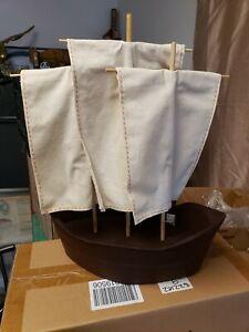 NIB - Pottery Barn - LARGE Boat Thanksgiving  Centerpiece