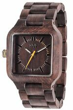 WeWood Mira Chocolate 100% Natural Wood Wooden Watch Indian Rosewood Unisex