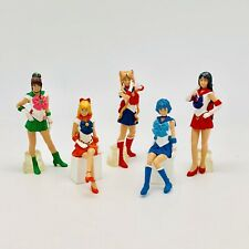 Bandai Pretty Guardian Sailor Moon Live PGSM  Gashapon Figure Set of 5 New