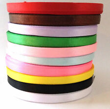 "10mm Satin Ribbon 3//8/"" White with Soccer Balls 25 Yard Roll"