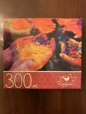 Cardinal 300 Piece Jigsaw Puzzle Hands With Powder 14x11