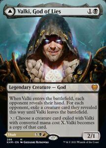 MTG VALKI, GOD OF LIES 286 EXC - DIO DELLE MENZOGNE - KHM-X EN - MAGIC