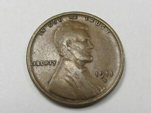 1911-D  Lincoln Wheat Cent #14101