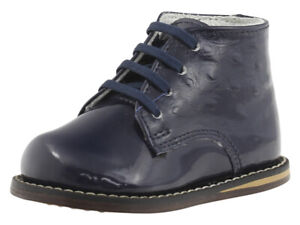 Josmo Infant/Toddler Boy's First Walker Navy Ostrich Oxfords Shoes