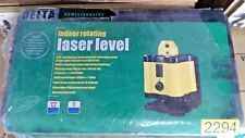 Delta Indoor Rotating laser level + Tripod and Case  NEW IN CASE