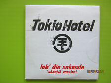 "1 x 3""-CD-Single - Tokio Hotel - Leb' die Sekunde - Universal Music/2005 - NEU -"