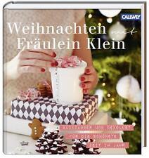 Weihnachten mit Fräulein Klein von Yvonne Bauer (2013, Gebundene Ausgabe)