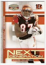 ANDRE CALDWELL ROOKIE SERIAL #/250 2008 DONRUSS GRIDIRON GEAR NEXT GENERATION 32