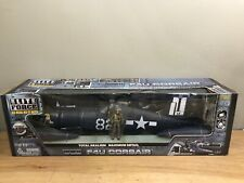 """Elite Force 1:18 Scale F4U Corsair """"Daisy Jane"""" WWII US Navy Fighter"""
