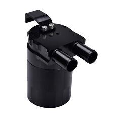Billet Baffled Motor Oil Catch Can for BMW N54 E82 E90 E91 E92 E93 E60 Black