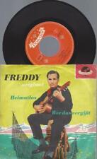 "7""   Freddy – Wer Das Vergißt"