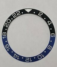 BATMAN BLACK/BLUE CERAMIC BEZEL INSERT FOR 40MM ROLEX GMT MASTER II 116710