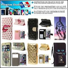 Etui Coque Housse Cuir PU Leather Wallet Case Cover iPhone 6+, 6s+ (plus)