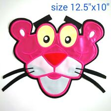 """FS LARGE 12.5x10"""" XXL PINK PANTHER SEW ON PATCH RARE CARTOON COMICS COLLECTIBLES"""