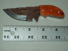 Handmade Damascus Mini Neck Knife With Free Shipping #1