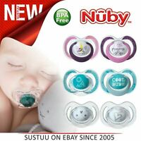 Nuby Uber Baby Toddler Day Dummy Pacifier Soothers BPA Free 2PK