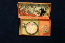 1934 INGERSOLL BIG BAD WOLF POCKET WATCH IN BOX