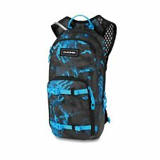 Dakine Session 8 Litre Back Pack with Hydrapak Reservoir Cyan Scribble