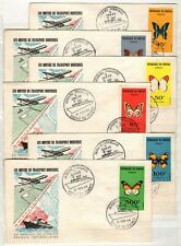 AP135522/ SENEGAL – FDC ON COVER – YEARS 1960 - 1966 USED MODERN LOT