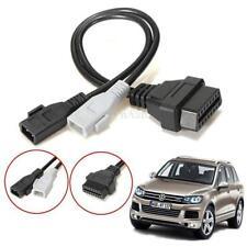 2x2 KKL to 16 Pin OBDII OBD2 Diagnostic Adapter Cable Cord For Audi Skoda VW VAG