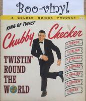 king Of Twist Chubby Checker LP 1960s Ex Con