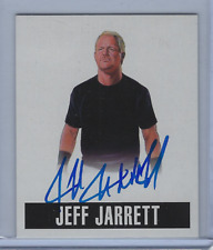 JEFF JARRETT 2017 LEAF ORIGINALS WRESTLING 2014 ALTERNATE ART ON CARD AUTO