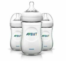 Philips Avent Natural Feeding 3 x Bottle 9 Oz