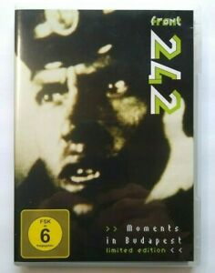 Front 242 Moments In Budapest DVD Concert With Patch Badge Insert Limited Ed.