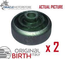 2 x BIRTH FRONT AXLE CONTROL ARM WISHBONE BUSH PAIR GENUINE OE QUALITY - 2194