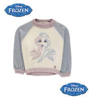 Pull  grosse maille La reine des neiges fille officiel Disney du 2 au 12 ans