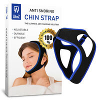 Snore Stopper Strap - Stop Snoring Chin Strap-  Sleep Apnea Devices - anti snore