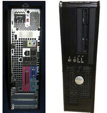Dell cheap DESKTOP fast COMPUTER PC BASE unit Windows 7 2GB RAM 80GB Hard Drive