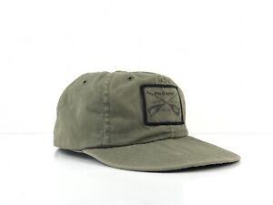 Vtg 90s POLO Sport Ralph Lauren Sportsman Oar Hat Fitted Baseball Cap Sz M USA