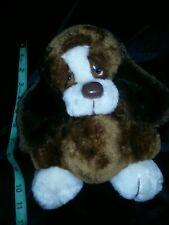 Htf Vtg Plush Sad Sam Baxter Puppy Dog Hand Puppet Russ soft bug belly toy