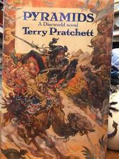 SIGNED 1st Terry Pratchett PYRAMIDS  UK EDITION  in dj Discworld