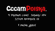 cccam polska poland 4 Premium c-lines 1 rok (+ 1 miesiąc GRATIS)