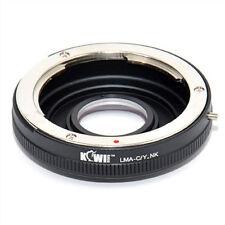 Bague Montage Adaptateur Contax Yashica Lentille de caméra nikon f-mount