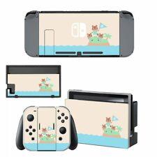 Bildschirm Aufkleber Skin Protector Set für Nintendo Switch