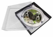 Springer Spaniel Dogs 'Soulmates' Glass Paperweight in Gift Box Chris, SOUL-59PW