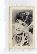 (Jc9071-100)  PREMIER TOBACCO,SCREEN/STAGE PERSONALITIES,J.PARKER,1936,#41