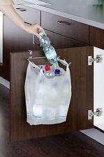 Tür Müllbeutelhalter zum Aufstecken, Halter für Müllbeutel, Küchen Abfallsammler