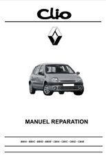 manuel atelier entretien technique réparation maintenance Renault Clio 2